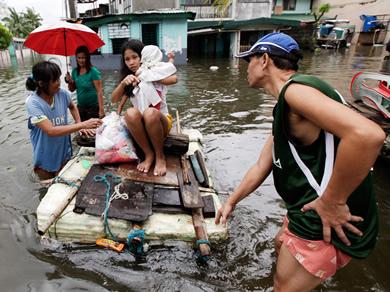 Typhon Haiyan : des nouvelles en direct des Philippines. Les aides concrètes